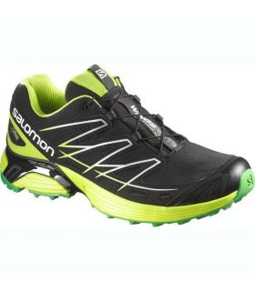 Zapatillas trail running Salomon Wings Flyte GTX Hombre Negro Verde
