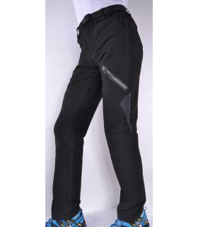 Pantalones Breezy Coromell Hombre Negro Gris