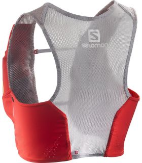 Mochila trail running Salomon S-Lab Sense Set Rojo