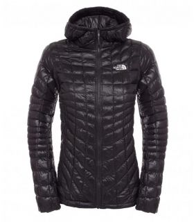 Chaqueta The North Face Thermoball Hoodie Mujer Negro