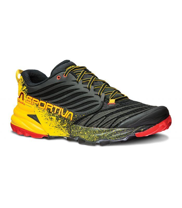 Compra online Zapatillas trail running La Sportiva Akasha Hombre Negro en oferta al mejor precio