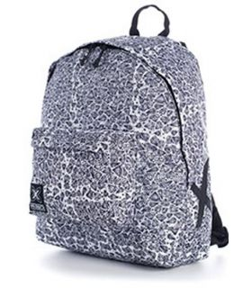 Mochila Munich BackPack 12 Dimonds Blanco y Negro. Oferta y Comprar online