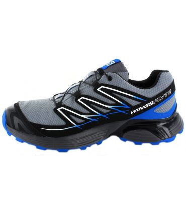 Zapatillas trail running Salomon Wings Flyte GoreTex Hombre Gris