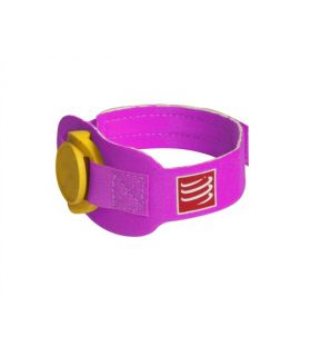 Cinta porta chip Compressport Timing Chip Strap Morado