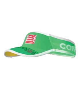 Visera Compressport UltraLight Visor V2 Verde Fluor