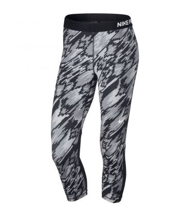 Mallas Running Nike Pro Overdrive Mujer Gris
