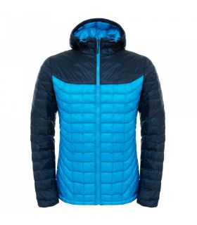 Chaqueta de fibras The North Face Thermoball Hoodie Hombre Azul Azul