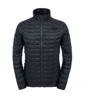 Chaqueta de fibras The North Face Thermoball Full Zip Hombre Asfalto