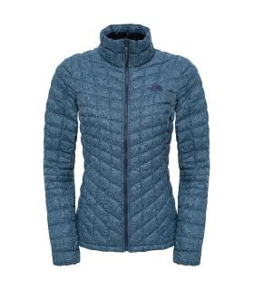 Chaqueta de fibras The North Face Thermoball Full Zip Mujer Azul
