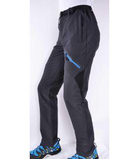 Pantalones Trekking Breezy Coromell Hombre Gris Azul