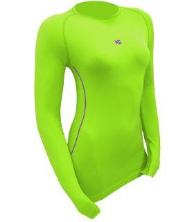 Camiseta Térmica Sport HG 8052 Mujer Verde
