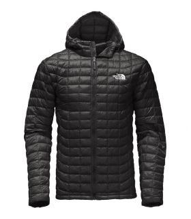Chaqueta de fibras The North Face Thermoball Hoodie Hombre Negro