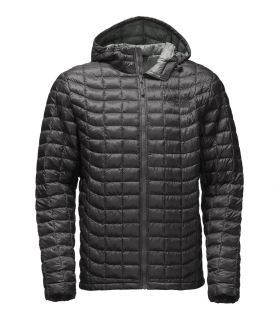 Chaqueta de fibras The North Face Thermoball Hoodie Hombre Gris Oscuro