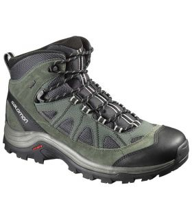 Botas Trekking Salomon Authentic Ltr Gtx Hombre Verde