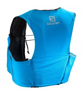 Mochila trail running Salomon S-Lab Sense Ultra 5 Set Negro