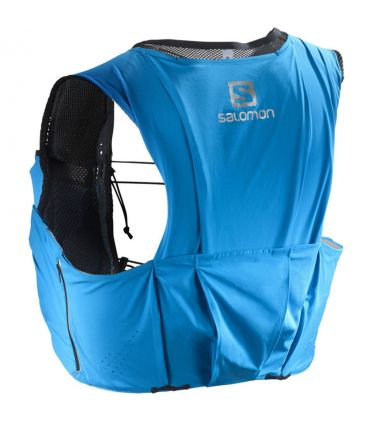 Mochila trail running Salomon S-Lab Sense Ultra 8 Set Azul