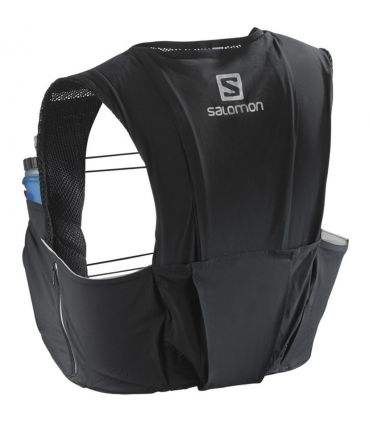 Mochila trail running Salomon S-Lab Sense Ultra 8 Set Negro