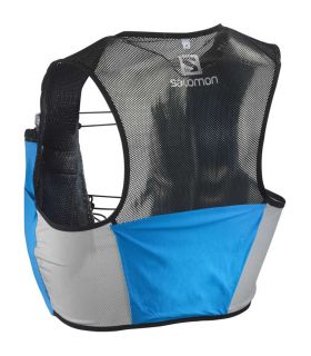 Mochila trail running Salomon S-Lab Sense 2 Set Azul