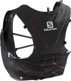 Mochila trail running Salomon Adv Skin 5 Set Negro
