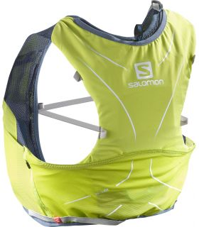 Mochila trail running Salomon Adv Skin 5 Set Amarillo