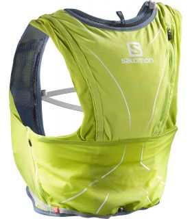 Mochila trail running Salomon Adv Skin 12 Set Amarillo