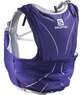 Mochila trail running Salomon Adv Skin 12 Set Morado