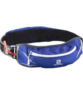 Riñonera Trail running Agile Belt 500 Set Azul Blanco