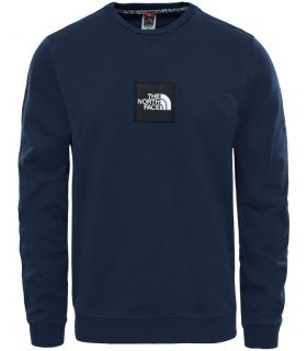 Sudadera The North Face Fine Crew Sweat Light Hombre Azul