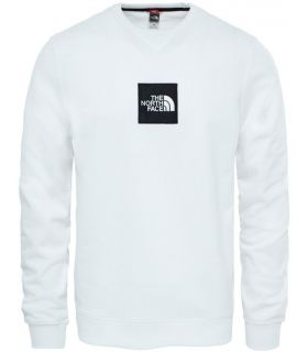 Sudadera The North Face Fine Crew Sweat Light Hombre Blanco. Oferta y Comprar online
