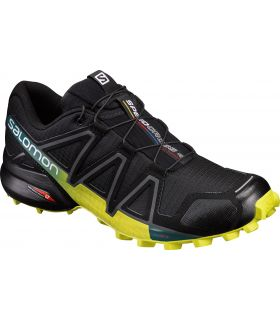 Zapatillas trail running Salomon Speedcross 4 Hombre Negro Amarillo