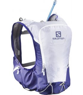 Mochila trail running Salomon SKIN PRO 10 SET Morado