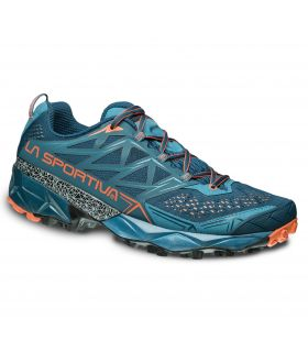Zapatillas trail running La Sportiva Akyra Hombre Azul Oceano