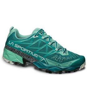 Zapatillas trail running La Sportiva Akyra Mujer Verde. Oferta y Comprar online