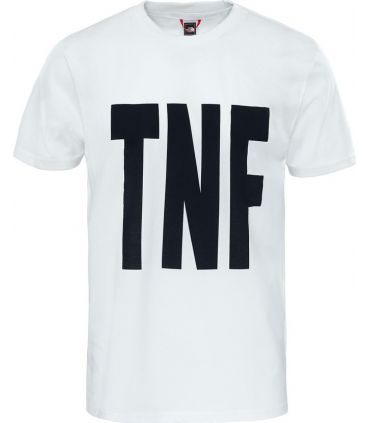 Camiseta The North Face S/S Tnf Tee Hombre Blanco