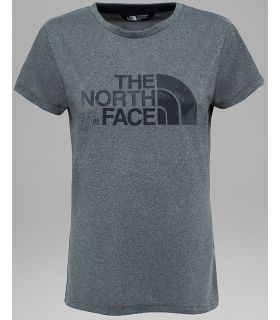 Camiseta The North Face Tanken Mujer Gris