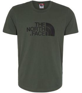 Camiseta de trekking The North Face Easy Tee Hombre Verde