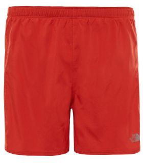 Pantalones Running The North Face NSR Short 5 Hombre Salmon