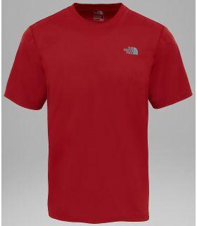 Camiseta Técnica The North Face Flex S/S Hombre Rojo