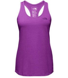 Camiseta Running The North Face Graphic Play Hard Tank Mujer Morado