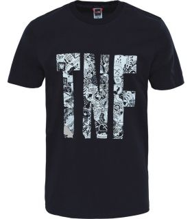 Camiseta The North Face S/S Tnf Tee Hombre Negro