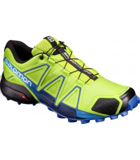 Zapatillas trail running Salomon Speedcross 4 Hombre Verde Lima
