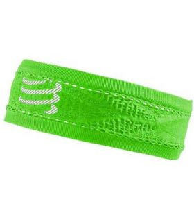 Banda Compressport Thin Headband On/Off Verde