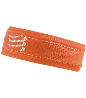 Banda Compressport Thin Headband On/Off Naranja