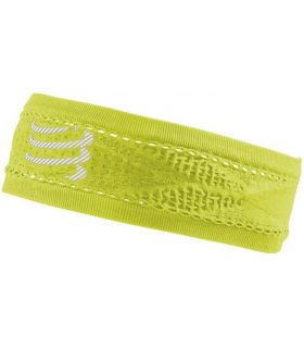 Banda Compressport Thin Headband On/Off Amarillo. Oferta y Comprar online