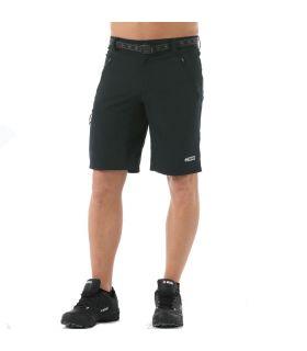 Pantalones Cortos Senderismo +8000 Monfrague Hombre Negro