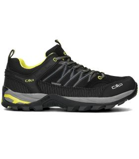 Zapatillas de trekking CMP Rigel Low Wp Hombre Negro