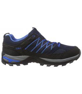 Zapatillas de trekking CMP Rigel Low Wp Hombre Negro Azul. Oferta y Comprar online