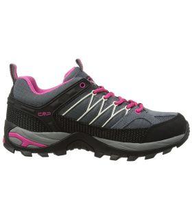 Zapatillas de trekking CMP Rigel Low Wp Mujer Gris Rosa