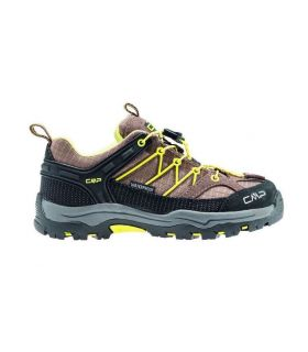 Zapatillas de trekking CMP Rigel Low Wp Niños Marron