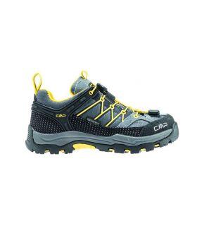Zapatillas de trekking CMP Rigel Low Wp Niños Gris. Oferta y Comprar online